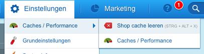 shopware-cache-leeren